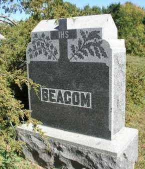 BEACOM, PLOT - Dakota County, Nebraska | PLOT BEACOM - Nebraska Gravestone Photos