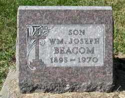 BEACOM, WM JOSEPH - Dakota County, Nebraska | WM JOSEPH BEACOM - Nebraska Gravestone Photos
