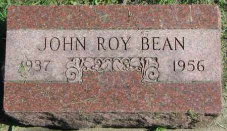 BEAN, JOHN ROY - Dakota County, Nebraska | JOHN ROY BEAN - Nebraska Gravestone Photos