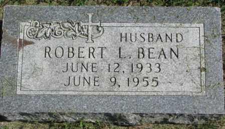 BEAN, ROBERT L. - Dakota County, Nebraska | ROBERT L. BEAN - Nebraska Gravestone Photos