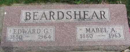 BEARDSHEAR, EDWARD G. - Dakota County, Nebraska | EDWARD G. BEARDSHEAR - Nebraska Gravestone Photos