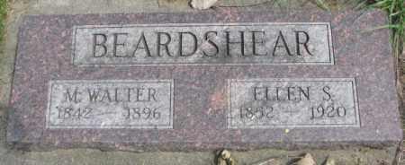 BEARDSHEAR, M. WALTER - Dakota County, Nebraska | M. WALTER BEARDSHEAR - Nebraska Gravestone Photos