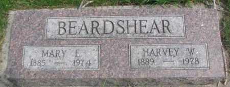 BEARDSHEAR, MARY E. - Dakota County, Nebraska | MARY E. BEARDSHEAR - Nebraska Gravestone Photos