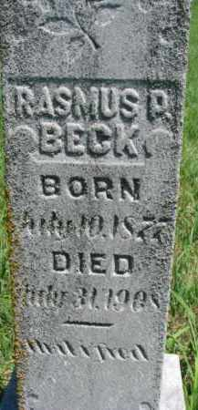 BECK, RASMUS - Dakota County, Nebraska   RASMUS BECK - Nebraska Gravestone Photos