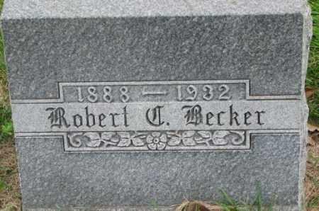 BECKER, ROBERT - Dakota County, Nebraska   ROBERT BECKER - Nebraska Gravestone Photos