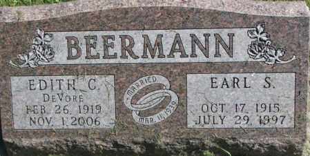 BEERMANN, EDITH C. - Dakota County, Nebraska | EDITH C. BEERMANN - Nebraska Gravestone Photos