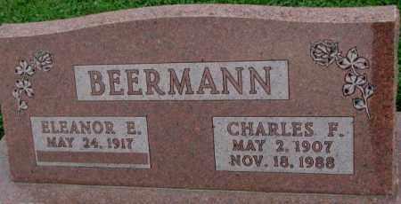 BEERMANN, CHARLES F. - Dakota County, Nebraska | CHARLES F. BEERMANN - Nebraska Gravestone Photos
