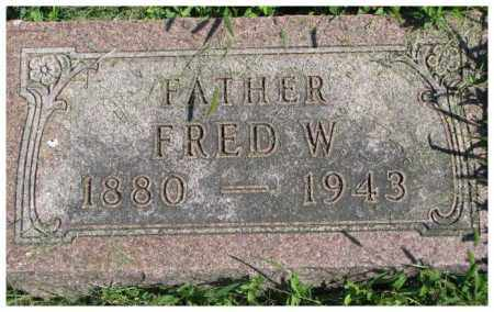 BEERMANN, FRED W. - Dakota County, Nebraska | FRED W. BEERMANN - Nebraska Gravestone Photos