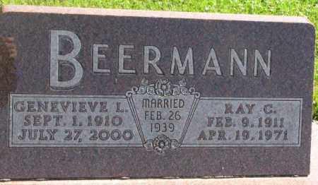 BEERMANN, GENEVIEVE L. - Dakota County, Nebraska | GENEVIEVE L. BEERMANN - Nebraska Gravestone Photos