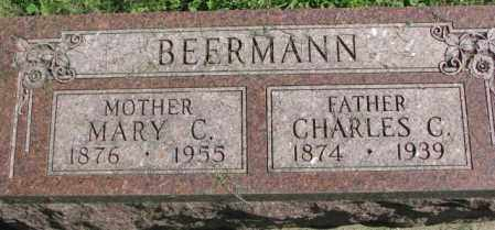 BEERMANN, CHARLES C. - Dakota County, Nebraska | CHARLES C. BEERMANN - Nebraska Gravestone Photos