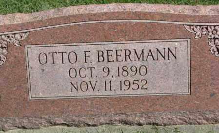 BEERMANN, OTTO F. - Dakota County, Nebraska | OTTO F. BEERMANN - Nebraska Gravestone Photos