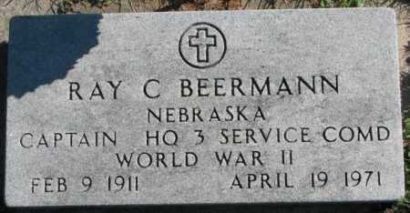 BEERMANN, RAY C. - Dakota County, Nebraska | RAY C. BEERMANN - Nebraska Gravestone Photos