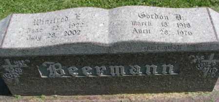 BEERMANN, GORDON DALE. - Dakota County, Nebraska   GORDON DALE. BEERMANN - Nebraska Gravestone Photos