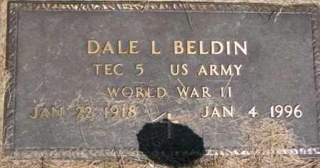 BELDIN, DALE L. (WW II MARKER) - Dakota County, Nebraska | DALE L. (WW II MARKER) BELDIN - Nebraska Gravestone Photos
