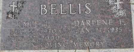 BELLIS, LYLE J. - Dakota County, Nebraska | LYLE J. BELLIS - Nebraska Gravestone Photos