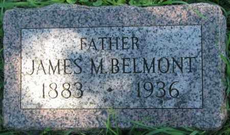 BELMONT, JAMES M. - Dakota County, Nebraska | JAMES M. BELMONT - Nebraska Gravestone Photos