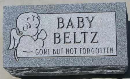 BELTZ, BABY - Dakota County, Nebraska   BABY BELTZ - Nebraska Gravestone Photos