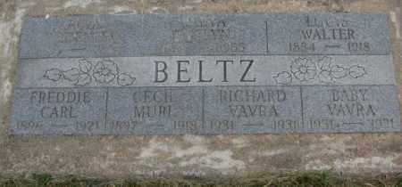 BELTZ, BABY VAVRA - Dakota County, Nebraska | BABY VAVRA BELTZ - Nebraska Gravestone Photos