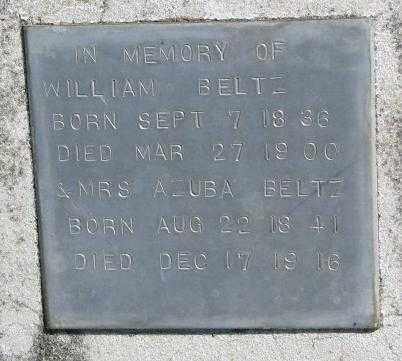 BELTZ, WILLIAM - Dakota County, Nebraska | WILLIAM BELTZ - Nebraska Gravestone Photos