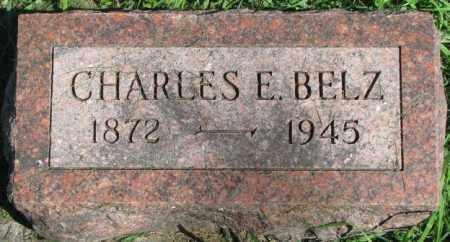 BELZ, CHARLES E. - Dakota County, Nebraska | CHARLES E. BELZ - Nebraska Gravestone Photos