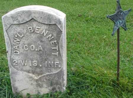 BENNETT, DAN'L - Dakota County, Nebraska | DAN'L BENNETT - Nebraska Gravestone Photos