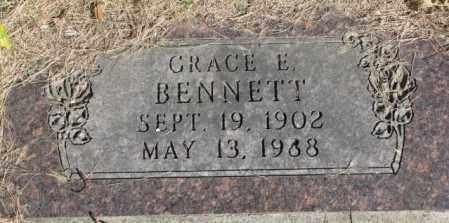 BENNETT, GRACE E. - Dakota County, Nebraska | GRACE E. BENNETT - Nebraska Gravestone Photos