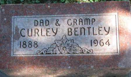 BENTLEY, CURLEY - Dakota County, Nebraska | CURLEY BENTLEY - Nebraska Gravestone Photos