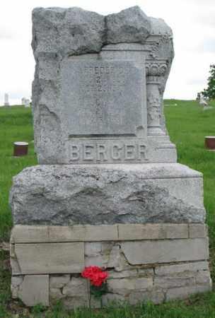 BERGER, LUCY A. - Dakota County, Nebraska | LUCY A. BERGER - Nebraska Gravestone Photos