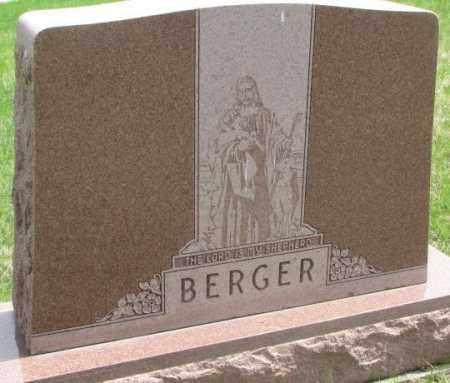 BERGER, PLOT - Dakota County, Nebraska   PLOT BERGER - Nebraska Gravestone Photos