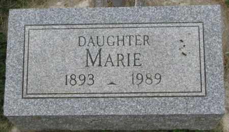 BIERMAN, MARIE - Dakota County, Nebraska | MARIE BIERMAN - Nebraska Gravestone Photos