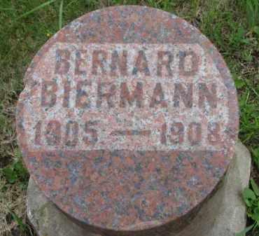 BIERMANN, BERNARD - Dakota County, Nebraska | BERNARD BIERMANN - Nebraska Gravestone Photos