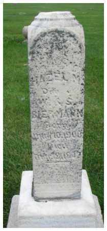 BIERMANN, HAZEL M. - Dakota County, Nebraska   HAZEL M. BIERMANN - Nebraska Gravestone Photos