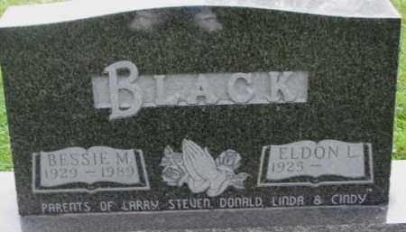 BLACK, ELDON L. - Dakota County, Nebraska | ELDON L. BLACK - Nebraska Gravestone Photos