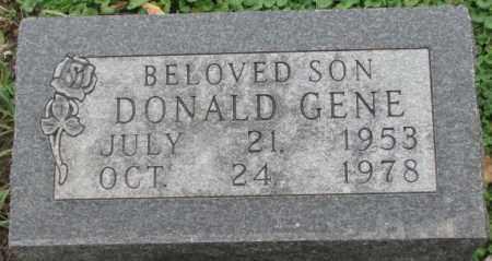 BLACK, DONALD GENE - Dakota County, Nebraska | DONALD GENE BLACK - Nebraska Gravestone Photos