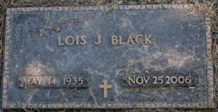 BLACK, LOIS J. - Dakota County, Nebraska | LOIS J. BLACK - Nebraska Gravestone Photos