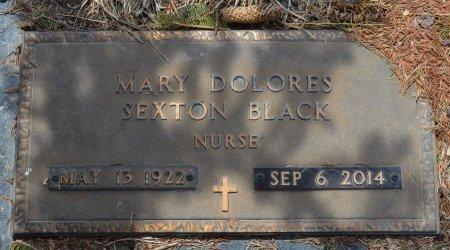 BLACK, MARY DOLORES - Dakota County, Nebraska   MARY DOLORES BLACK - Nebraska Gravestone Photos