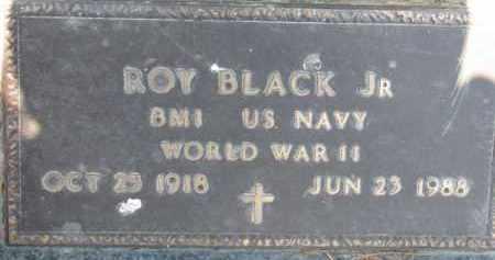 BLACK, ROY JR. - Dakota County, Nebraska | ROY JR. BLACK - Nebraska Gravestone Photos