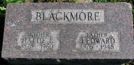 BLACKMORE, J. EDWARD - Dakota County, Nebraska | J. EDWARD BLACKMORE - Nebraska Gravestone Photos