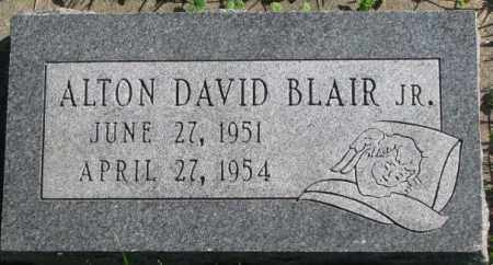 BLAIR, ALTON DAVID JR. - Dakota County, Nebraska | ALTON DAVID JR. BLAIR - Nebraska Gravestone Photos