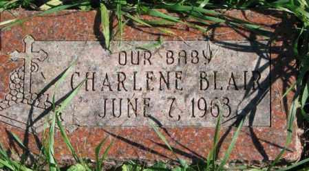 BLAIR, CHARLENE - Dakota County, Nebraska | CHARLENE BLAIR - Nebraska Gravestone Photos