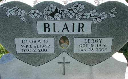 BLAIR, LEROY - Dakota County, Nebraska | LEROY BLAIR - Nebraska Gravestone Photos