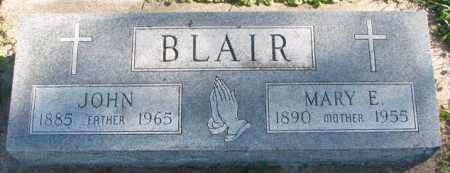 BLAIR, JOHN - Dakota County, Nebraska | JOHN BLAIR - Nebraska Gravestone Photos