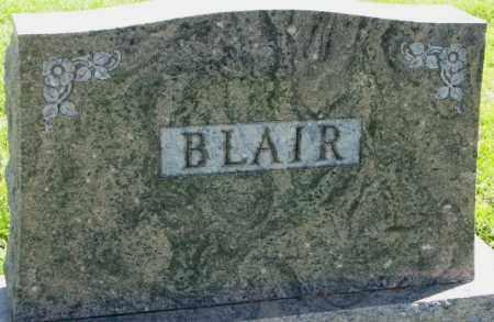 BLAIR, PLOT - Dakota County, Nebraska | PLOT BLAIR - Nebraska Gravestone Photos