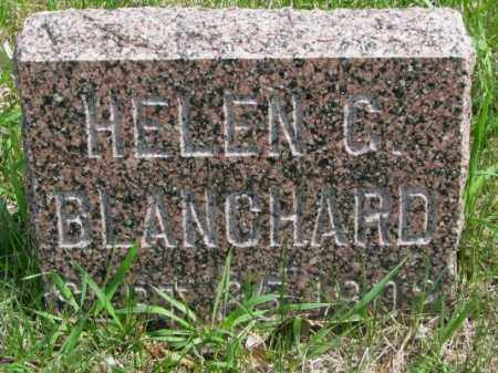 BLANCHARD, HELEN C. - Dakota County, Nebraska | HELEN C. BLANCHARD - Nebraska Gravestone Photos