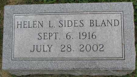 BLAND, HELEN L. - Dakota County, Nebraska | HELEN L. BLAND - Nebraska Gravestone Photos