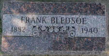 BLEDSOE, FRANK - Dakota County, Nebraska | FRANK BLEDSOE - Nebraska Gravestone Photos