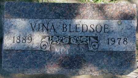 BLEDSOE, VINA - Dakota County, Nebraska | VINA BLEDSOE - Nebraska Gravestone Photos