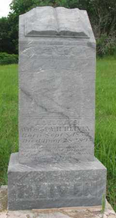 BLIVEN, ADELINE - Dakota County, Nebraska   ADELINE BLIVEN - Nebraska Gravestone Photos