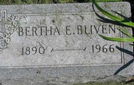 BLIVEN, BERTHA E. - Dakota County, Nebraska | BERTHA E. BLIVEN - Nebraska Gravestone Photos