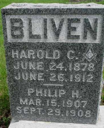 BLIVEN, PHILIP H. - Dakota County, Nebraska   PHILIP H. BLIVEN - Nebraska Gravestone Photos
